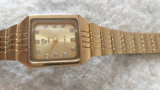 zloty zegarek damski LIEBIG ze stali nierdzewnej