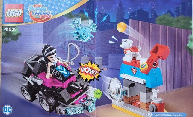 LEGO DC Super Hero Girls, klocki Lashina i jej pojazd, 41233