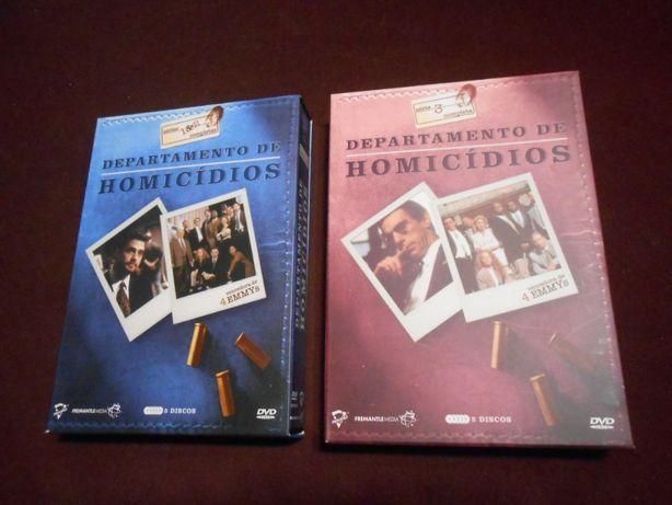 Departamento de Homicidios serie 1,2 e 3 completas em DVD