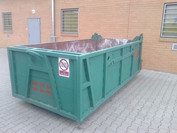 Wywóz śmieci , kontenery 1100 litrów kp 7 , odpady gruz