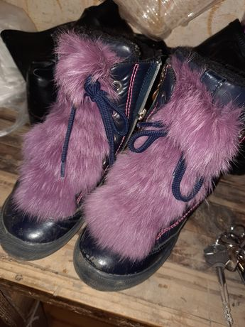 Сапожки ботинки бартек Бартех мех
