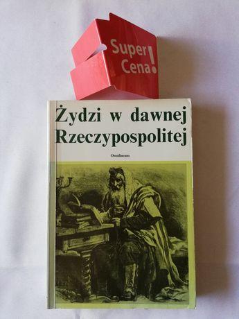 """książka """"Żydzi w dawnej Rzeczpospolitej"""" praca zbiorowa"""