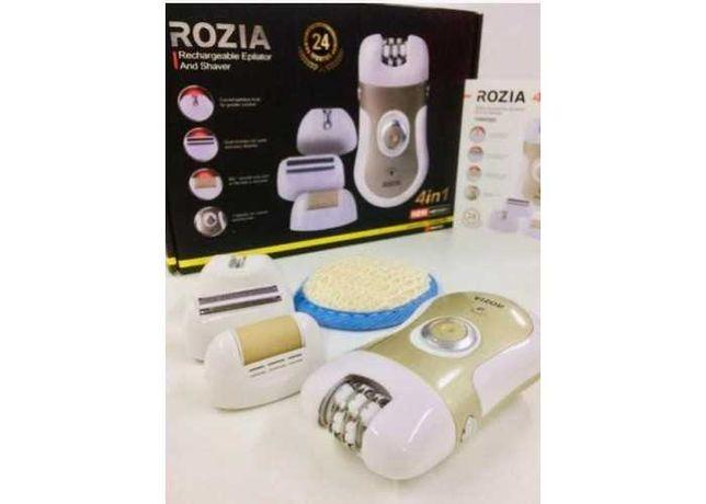 Акция! Женский эпилятор Rozia HB-6006 2 в 1 депилятор бритва