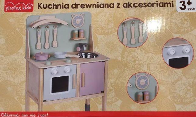 Kuchnia drewniana NOWA pastelowe kolory