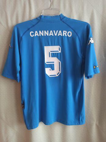 Koszulka Włochy Cannavaro  2000 Kappa S