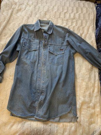 koszula długa jeansowa