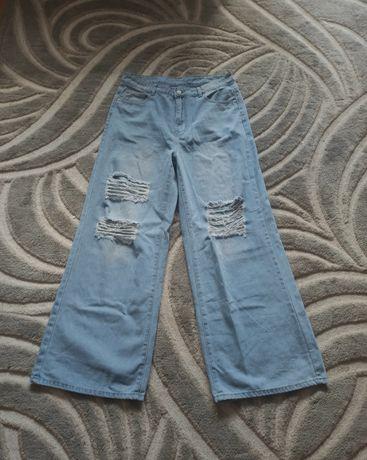Dzwony/szerokie spodnie z shein