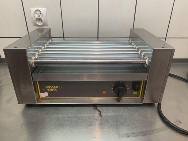 Roller grill podgrzewacz parówek hot dog opiekacz