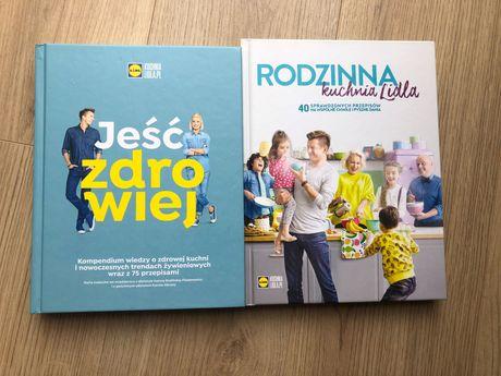 2 Książki Lidl Rodzinna kuchnia Lidla Jeść zdrowiej