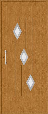 Painéis de porta Frezados