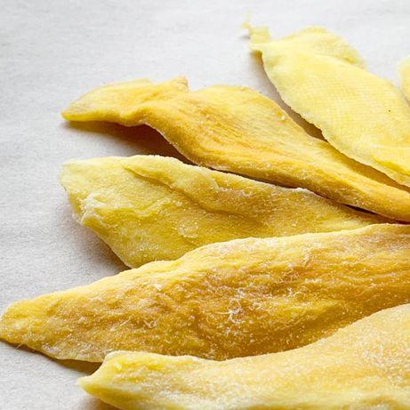 . НАТУРАЛЬНОЕ манго БЕЗ САХАРА сушёные фрукты сухофрукты