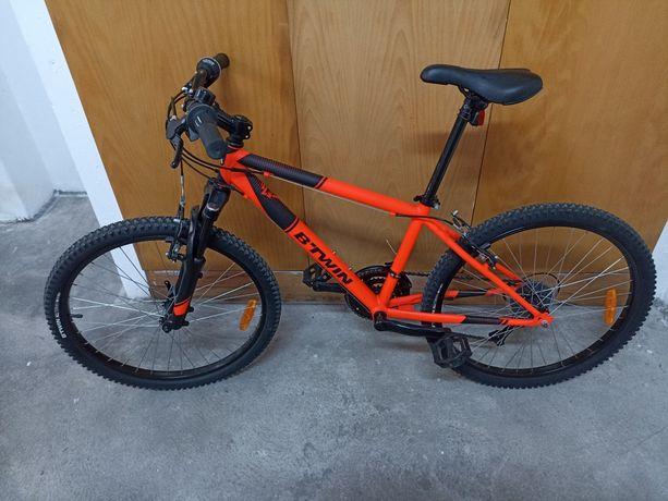 Bicicleta Rockrider (Btwin) roda 24