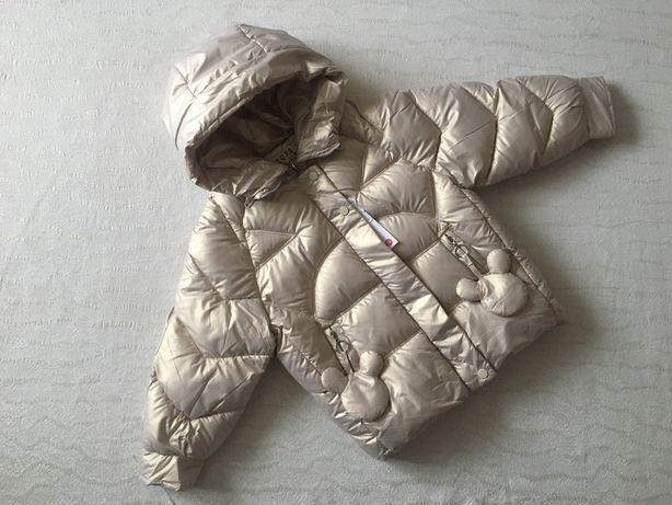 Демисезонная куртка на девочку/дівчинку/синтепон/рост 100-130
