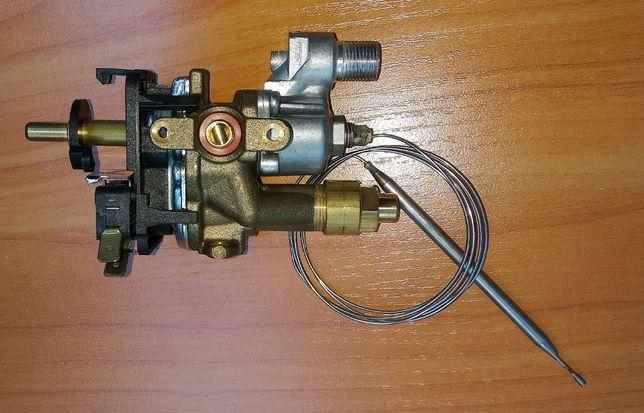 Кран газовый духовки (с термостатом) для газовой плиты Hansa 8042906.