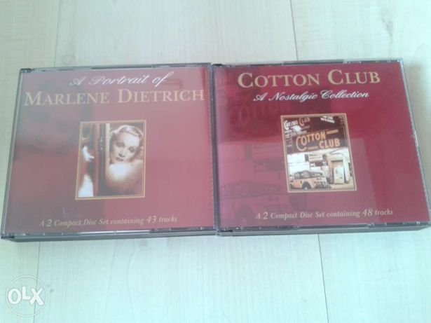 marlene dietrich / cotton club 4 płyty cd