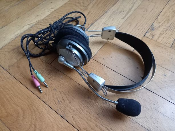Słuchawki z mikrofonem do komputera