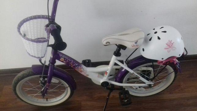 Rowerek dla dziewczynki 16 cali
