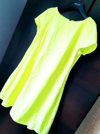 Sukienka neonowa M