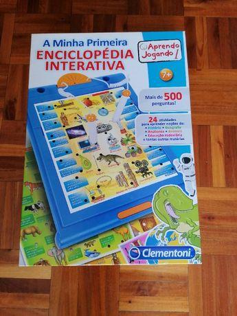"""Jogo """"A minha 1ª enciclopédia interactiva"""""""