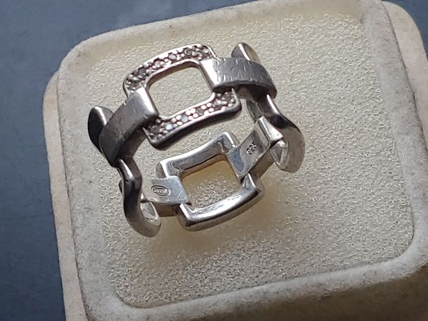 Srebrna obrączka .srebrny pierścionek..srebro 925