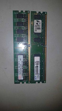Оперативна память 2ггб PC2 -5300  ,  PC2-6400
