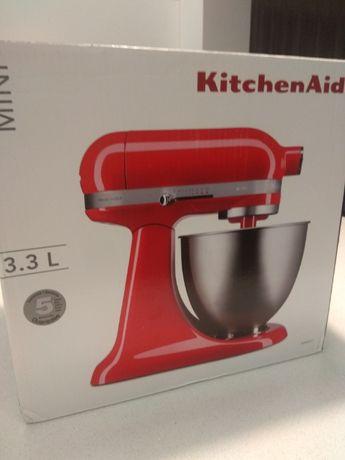 Mikser planetarny KitchenAid Mini 3,3L - 5KSM3311XETH czerwony