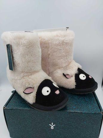NOWE botki śniegowce EMU AUSTRALIA owieczki lamb 35 zwierzaki