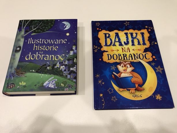 Bajki na dobranoc dwie książki z bajkami do usypisnia