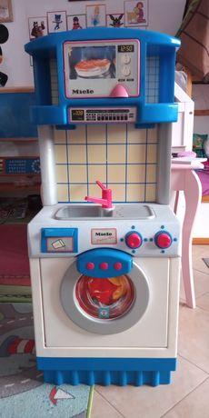Zabawkowa pralka zlew mikrofalówka dla dzieci