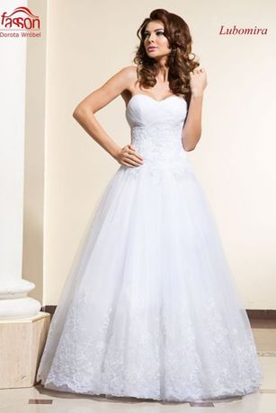 Suknia ślubna lubomira fasson idealna