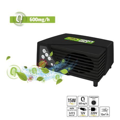 Gerador de ozono portátil 600 MG/H (12V/220V) JBM 53796