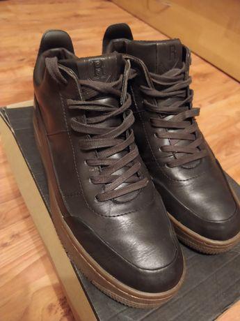 Buty wysokie skórzane 44 Reserved Nike Adidas
