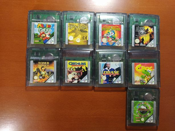 Jogos gameboy color