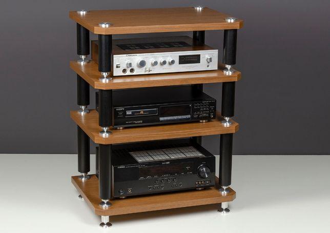 Стойка тумба под телевизор ТВ и аудио видео аппаратуру Elara Gand 4 OI