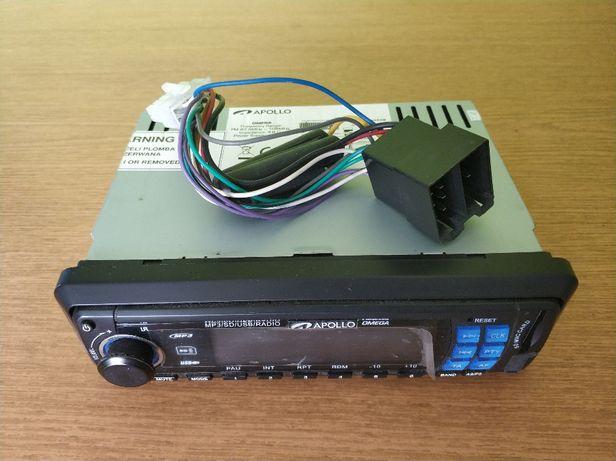 Radioodtwarzacz samochodowy Apollo OMEGA MP3 USB/SD/AUX/Radio FM 4x45W