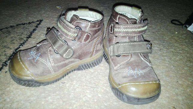 Демисезонные ботиночки, ботинки кожа. Кожанные! 21 размер