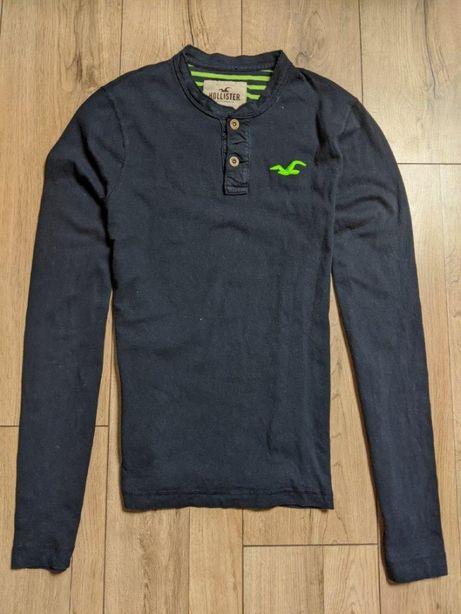 Hollister by Abercrombie koszulka męska longsleeve długi rękaw ideal M