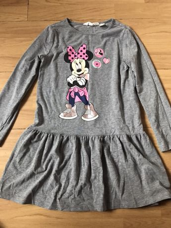 H&m sukienka Myszka Minnie 122/128