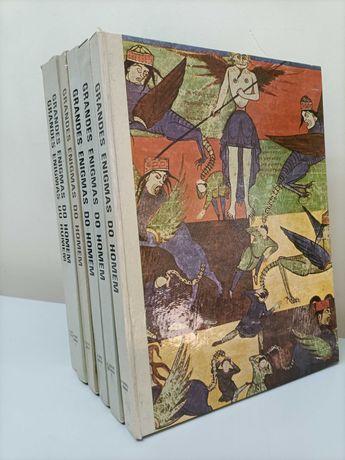 """Enciclopédia """"Grandes Enigmas do Homem"""" - 6 volumes"""