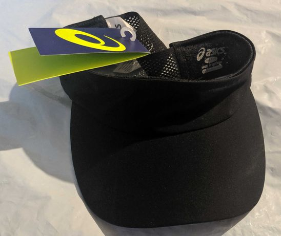 Asics visor performance nowy daszek jak czapka sport bieganie