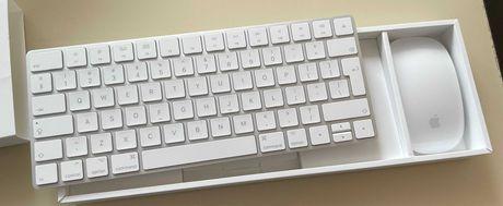 Klawiatura Apple Magic Keyboard 2 + Mysz Apple Magic Mouse 2 GWARANCJA