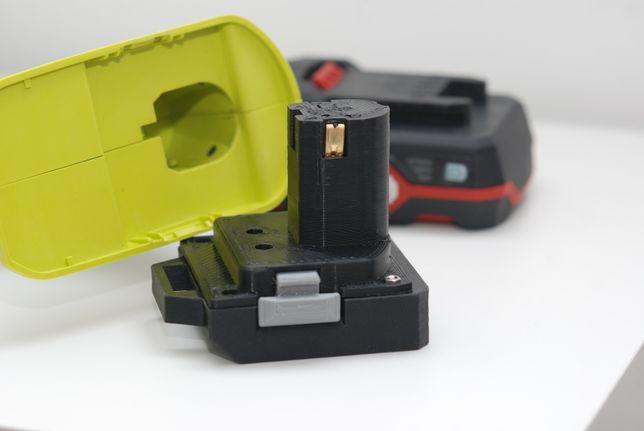 Adapter Ryobi do Parkside X20, Makita 18V, Einhell 18V, Milwaukee M18