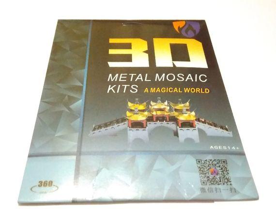 Металлическая головоломка 3Д конструктор