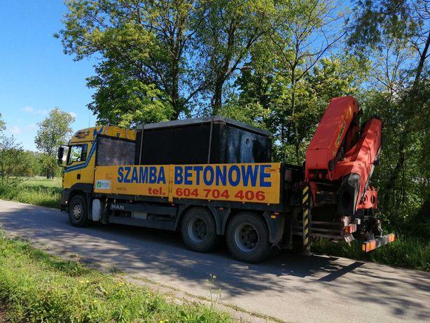 Łomża, Białystok, Mońki, Zambrów, Szambo betonowe, Szamba 6,8,10,12m3