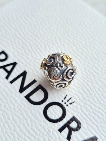 Pandora ślimaki tt na 20-lecie, charms oryginalny B82010EN