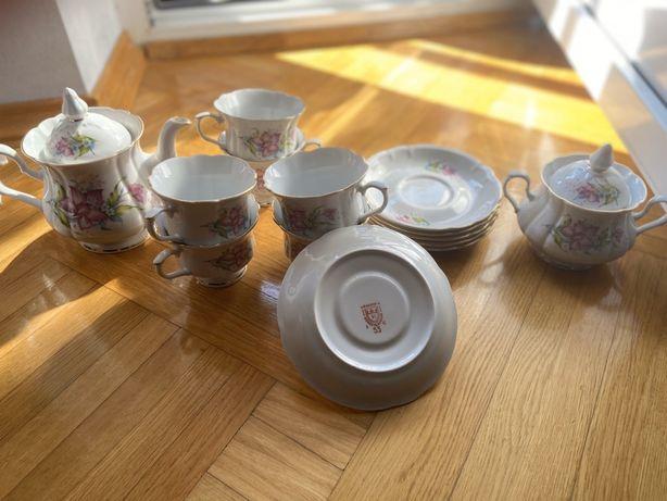 Фарфор коростенський, чайний сервіз