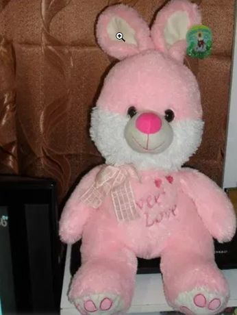 НОВЫЙ 66см плюшевый заяц мягкая игрушка зайка