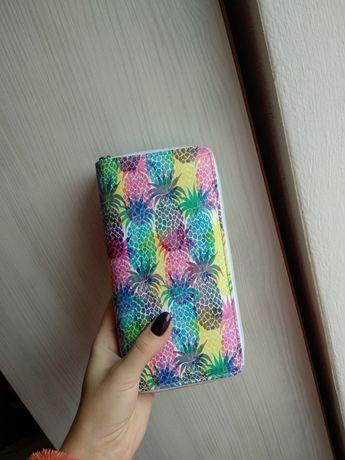 Кошелёк женский рисунком жіночий гаманець