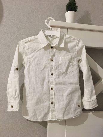 Рубашка H&M льняная для мальчика