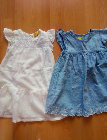 2 vestidos Chicco 18 m e 15m. Portes incluídos